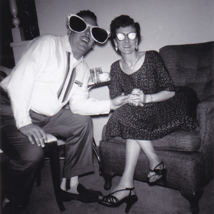 New Year Eve Snapshots Vintage