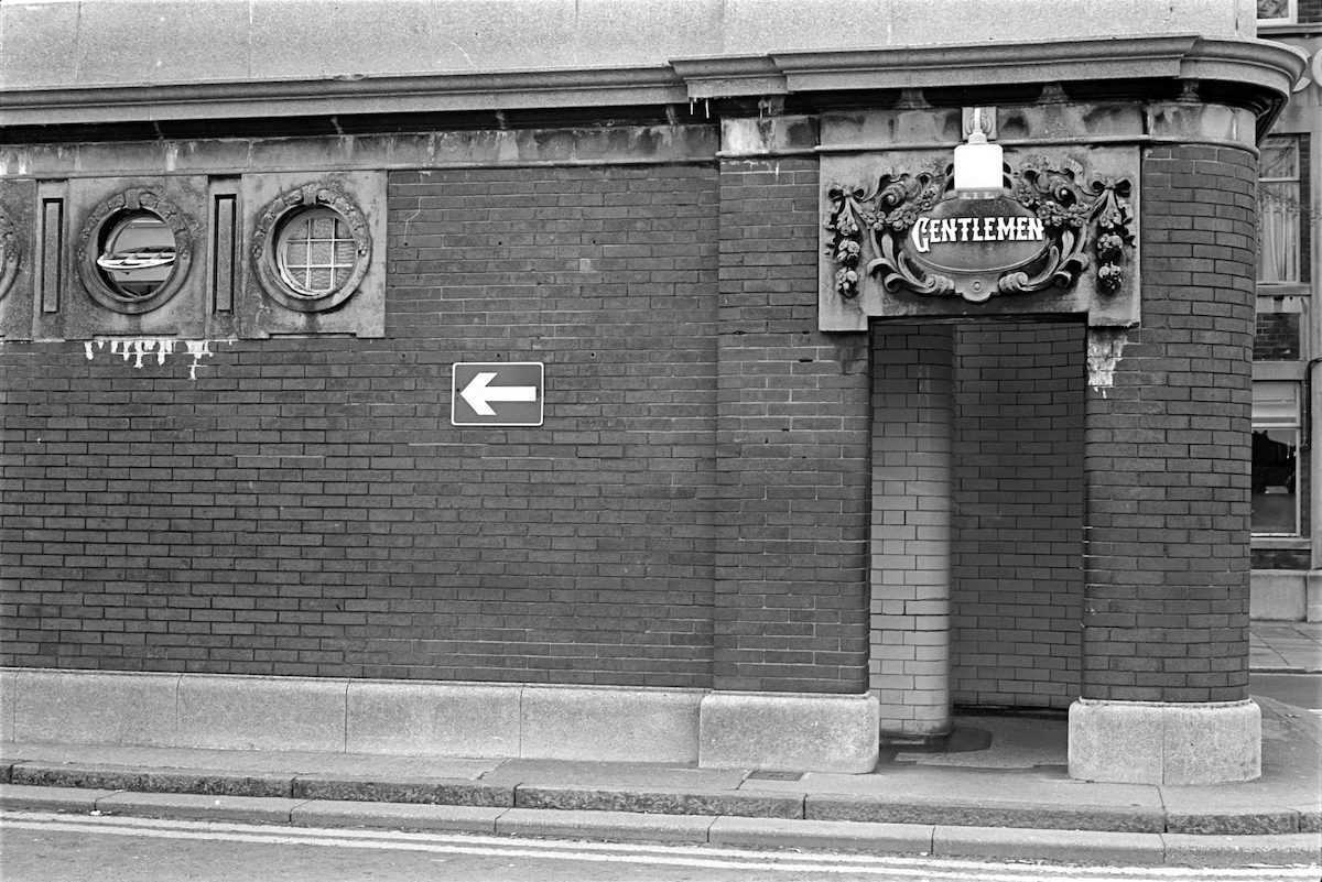 Public conveniences, Nelson St, Hull 1979