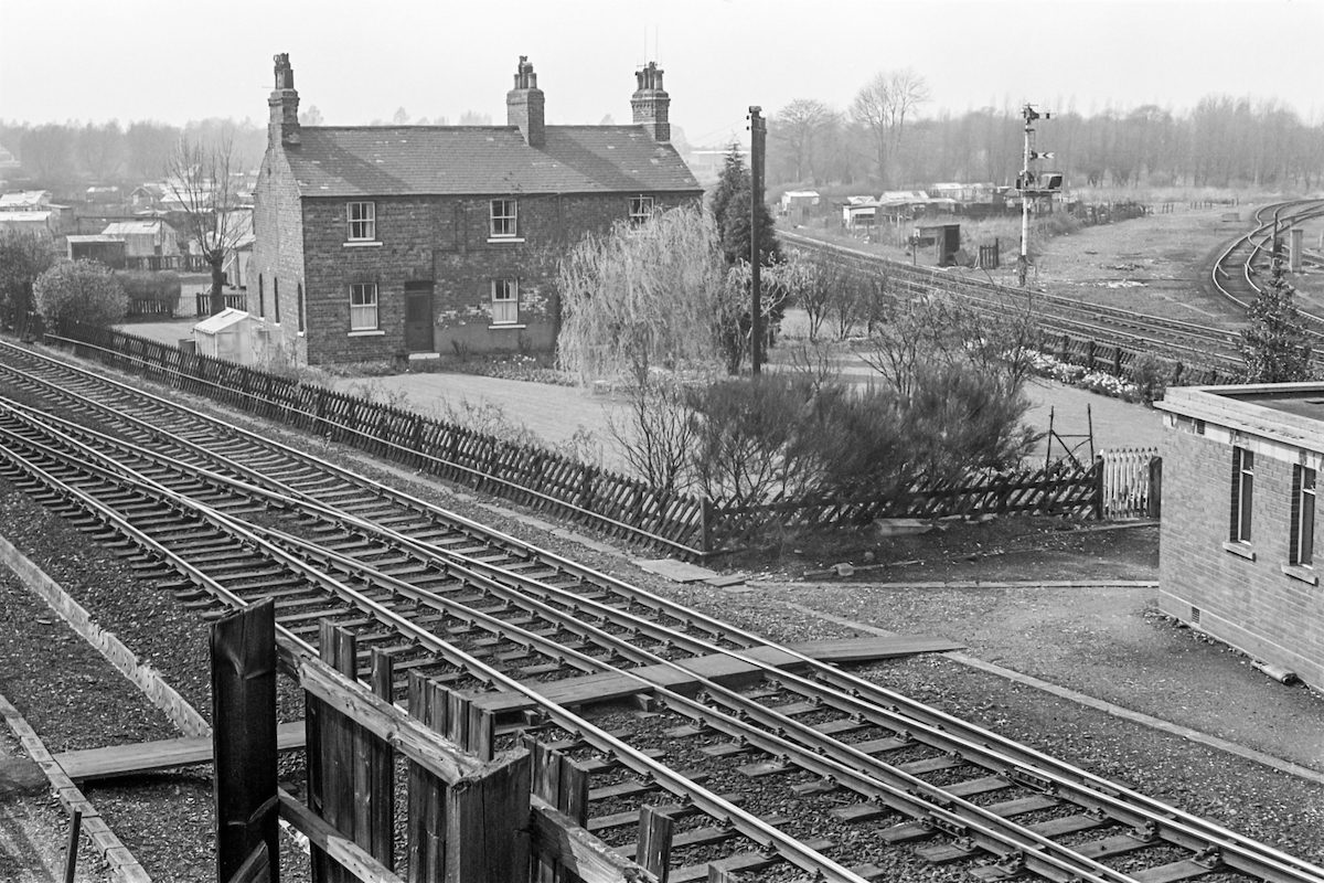 Railway Junction, Argyle St, Hull 1979