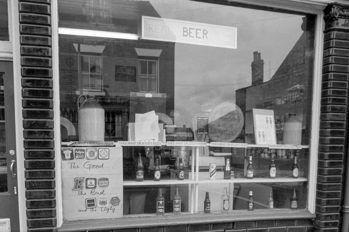 Real Beer, Newland Ave, Hull, 1982