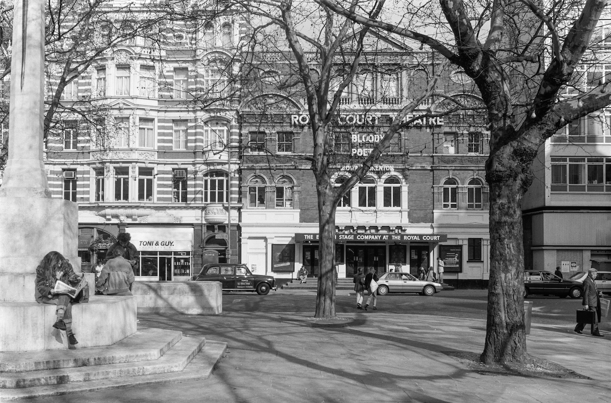 Royal Court Theatre, SSloane Square, Kensington & Chelsea, 1988