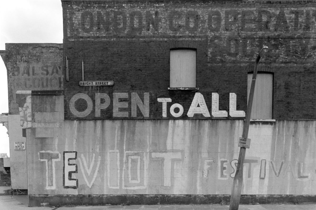 London graffiti 1980s