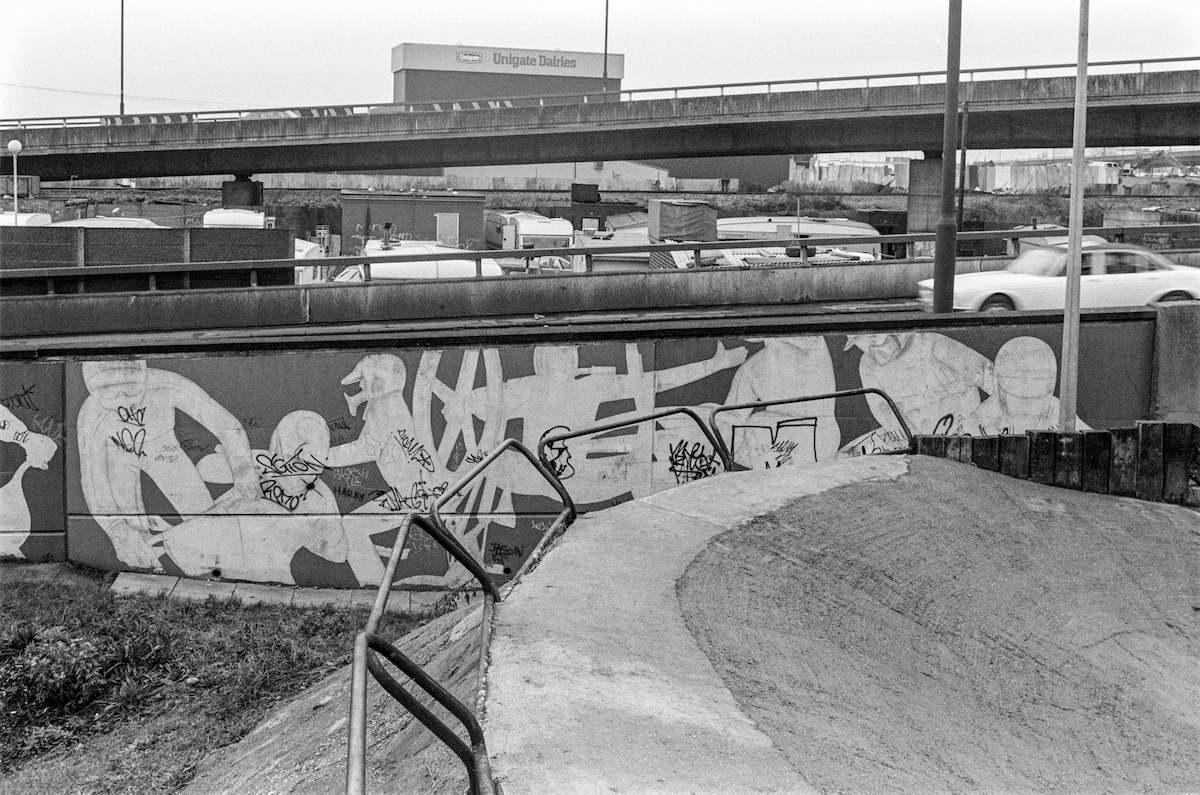Stable Way, Westway, Notting Hill, Kensington & Chelsea, 1988