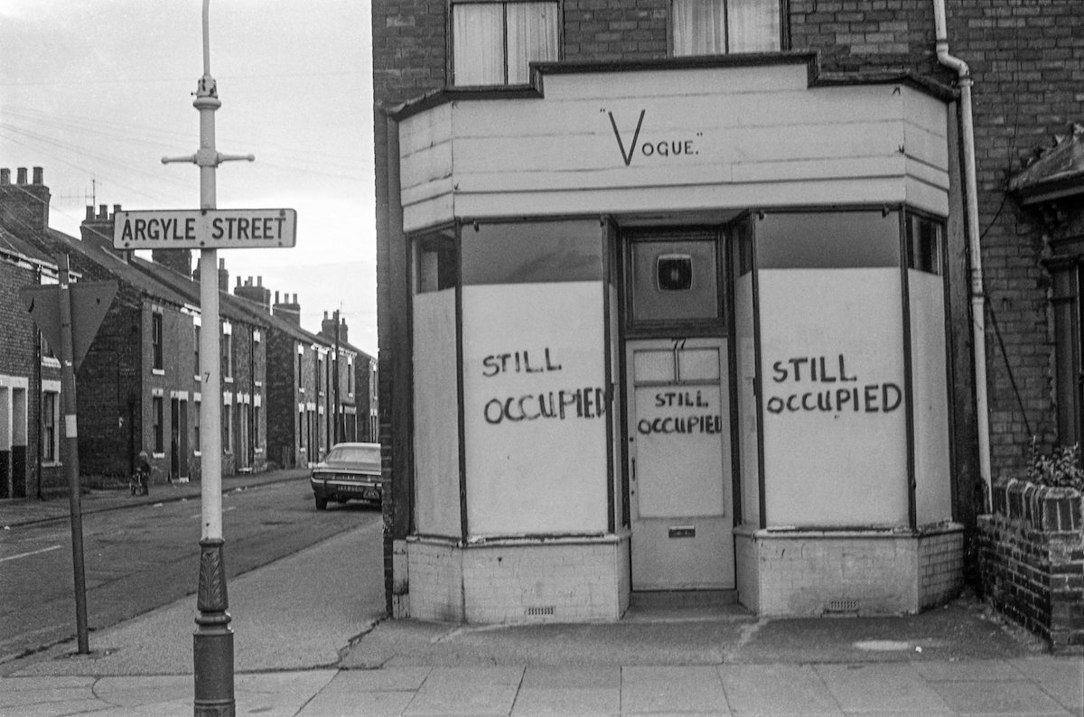 Still Occupied, Vogue, Argyle St, Hull, 1979