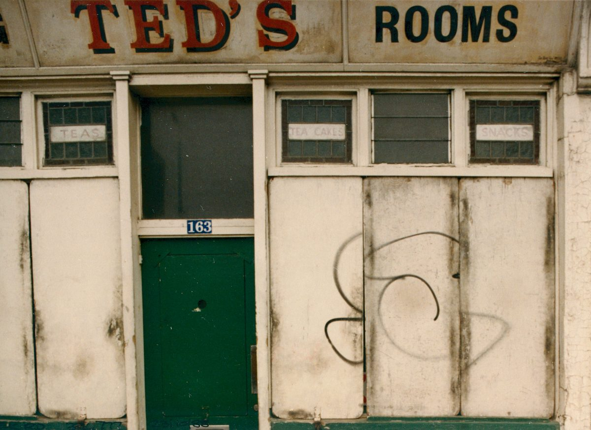 Ted's Rooms, Creek Rd, Deptford, Greenwich, 1988