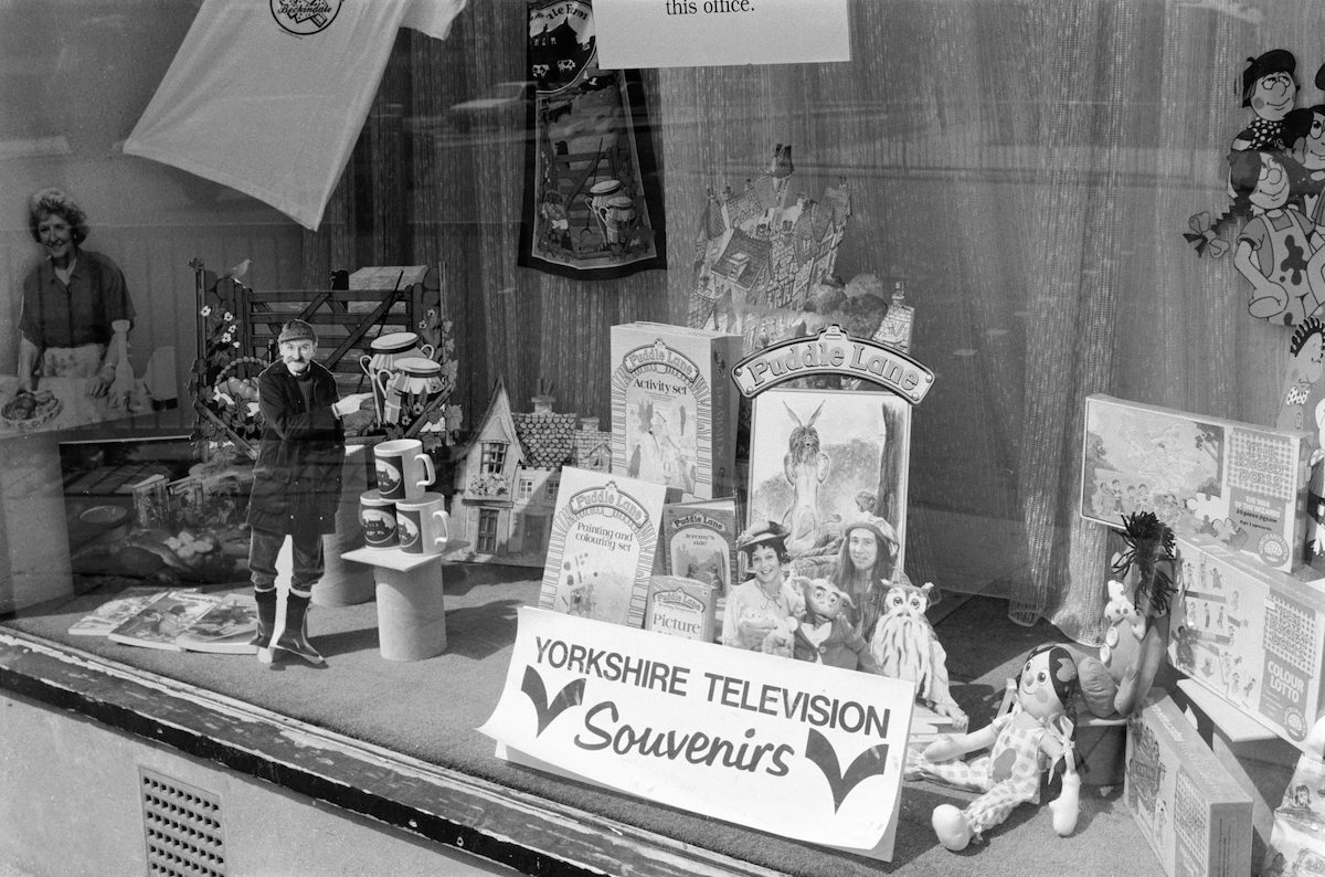 Yorkshire TV Souvenirs, Anlaby Rd, Hull, 1988