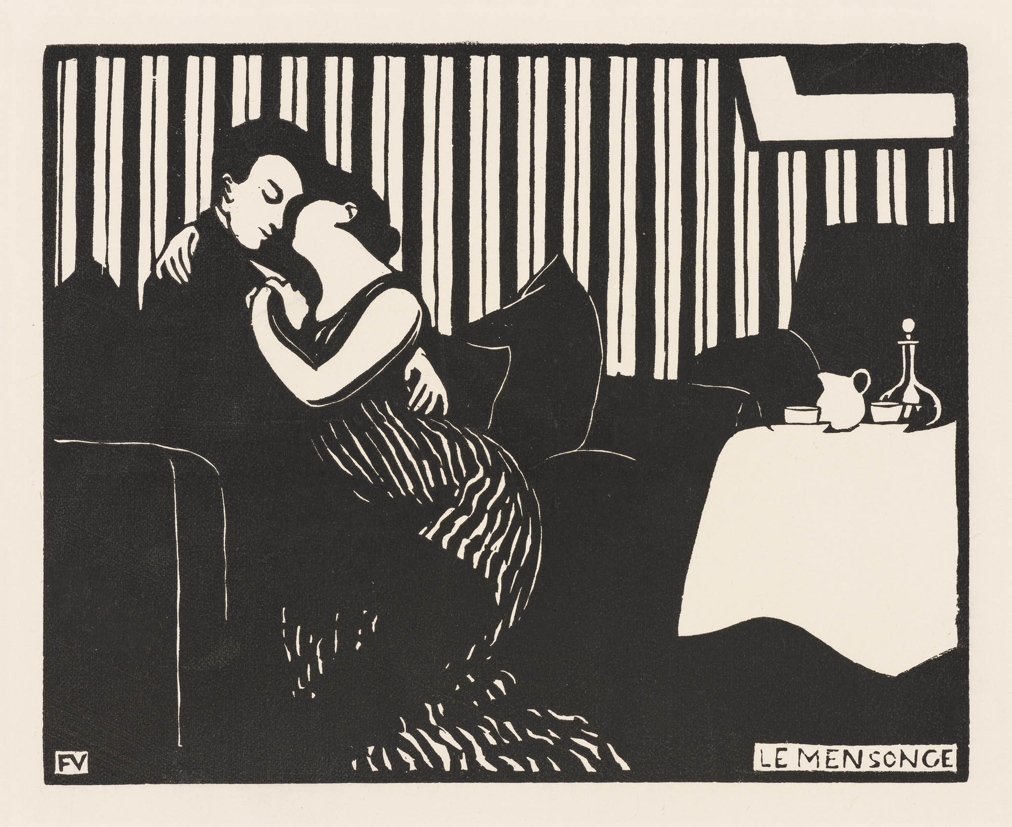 Felix Vallotton woodcuts