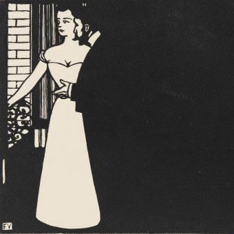 Images From A 1898 Book Of Felix Vallotton's Beautifully Stark Woodcuts