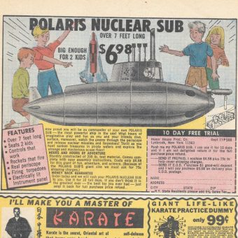 Sea Monkeys, X-Ray Specs, and the Twisted Secret Behind Vintage Ads from American Comic Books