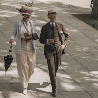 Early Colour Photographs of New York 1900-1930