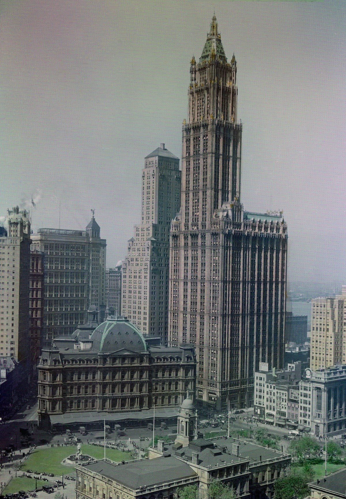 Autochromes, colour photography, New York, 1900s, photography