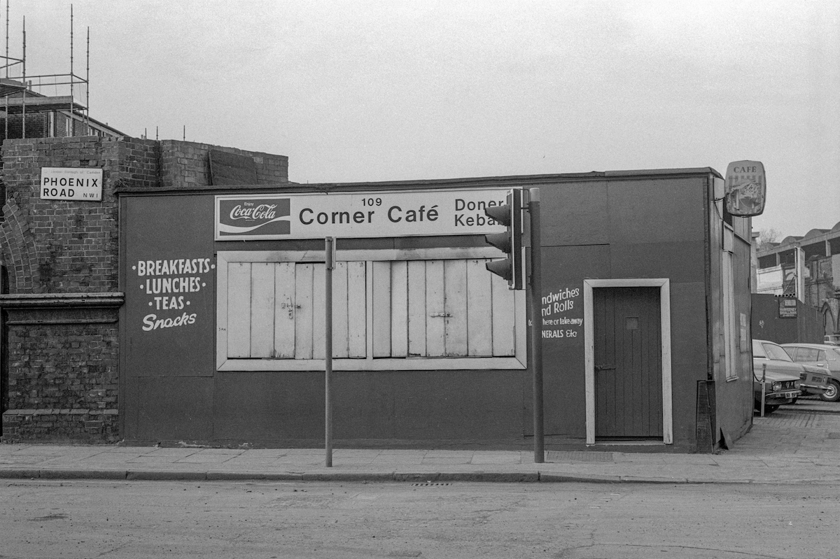 East London Cafe 1980s