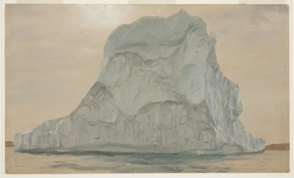 Frederic Edwin Church, Iceberg study, June or July 1865