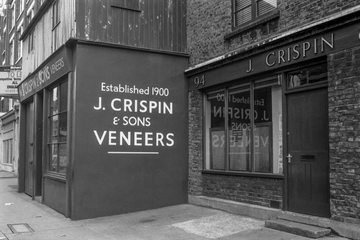 J Crispin & Sons, Curtain Rd, Shoreditch, Hackney 86