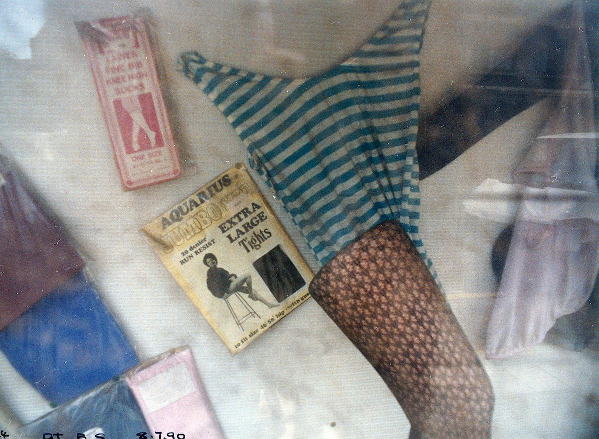 Jumbo Tights, Great Eastern St, Shoreditch, Hackney, 1990