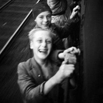 Fast Train To Freedom: Menno Huizinga's Sensational Photographs of Dutch Boys After Liberation From Nazi Germany – 1945