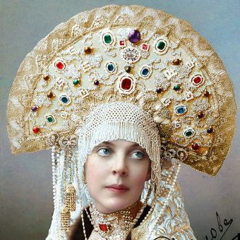 Photographs of The Romanovs' Final Ball In Color, St Petersburg, Russia 1903