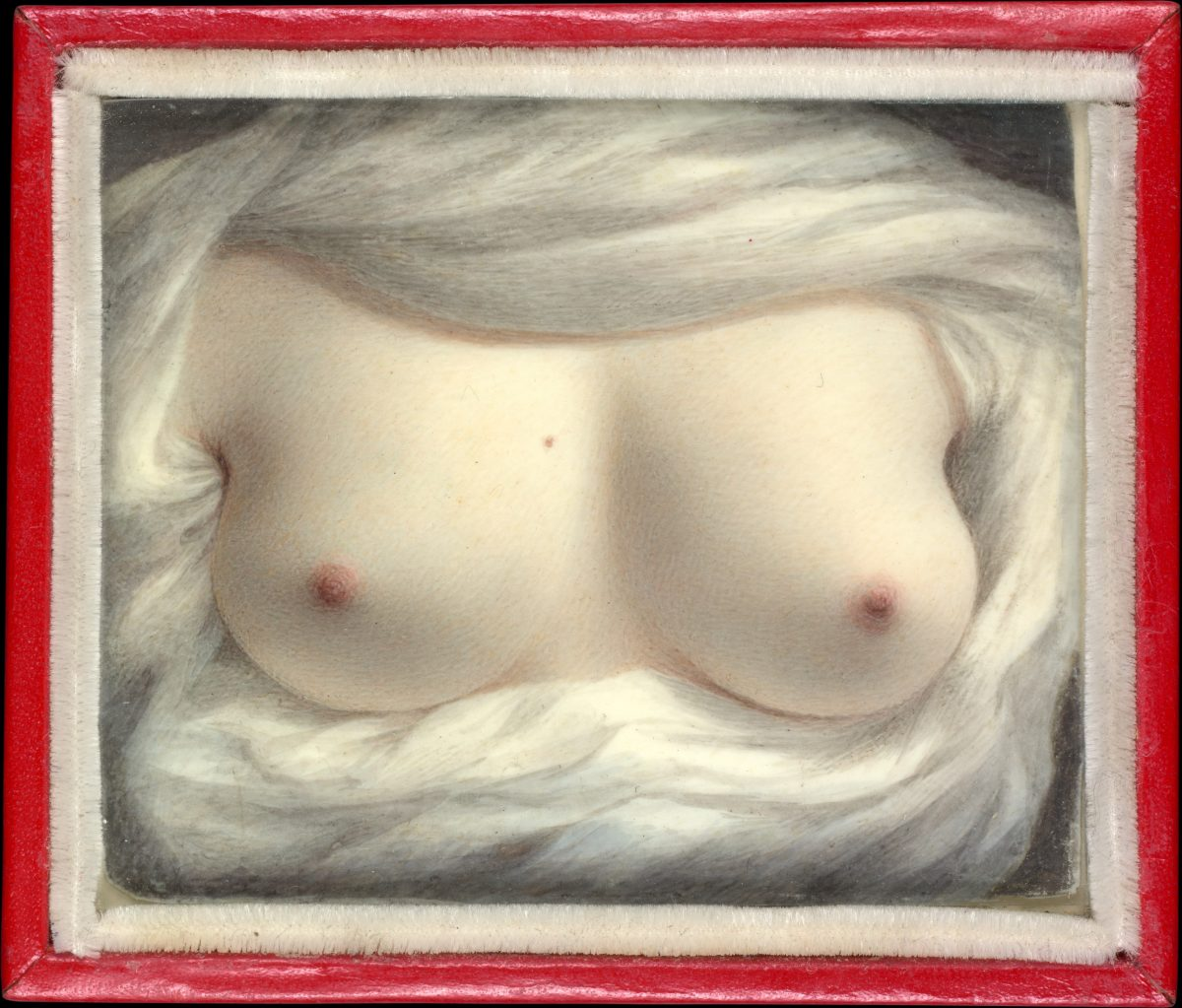 Sarah Goodridge's Beauty Revealed Sarah Goodridge Nude Breasts 1828