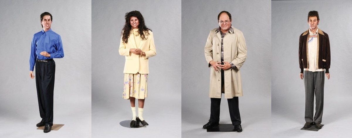 The Seinfeld cast wax