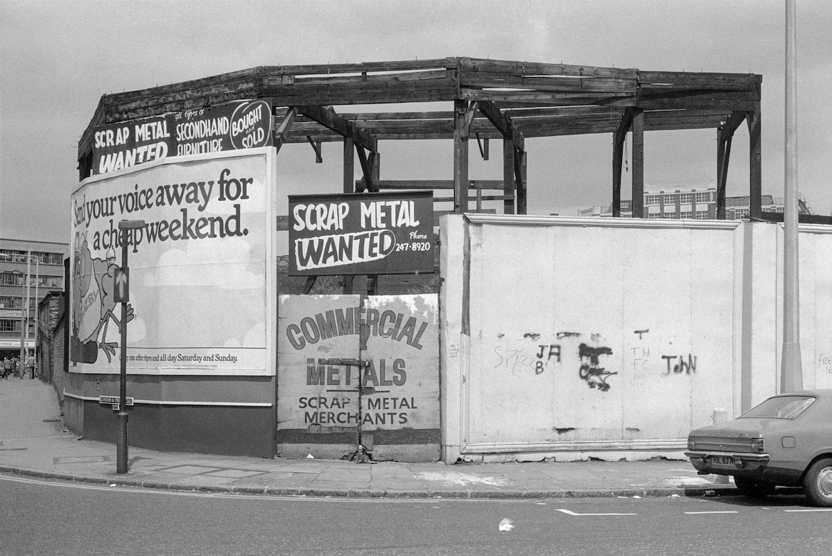 Shoreditch Hackney London 1980