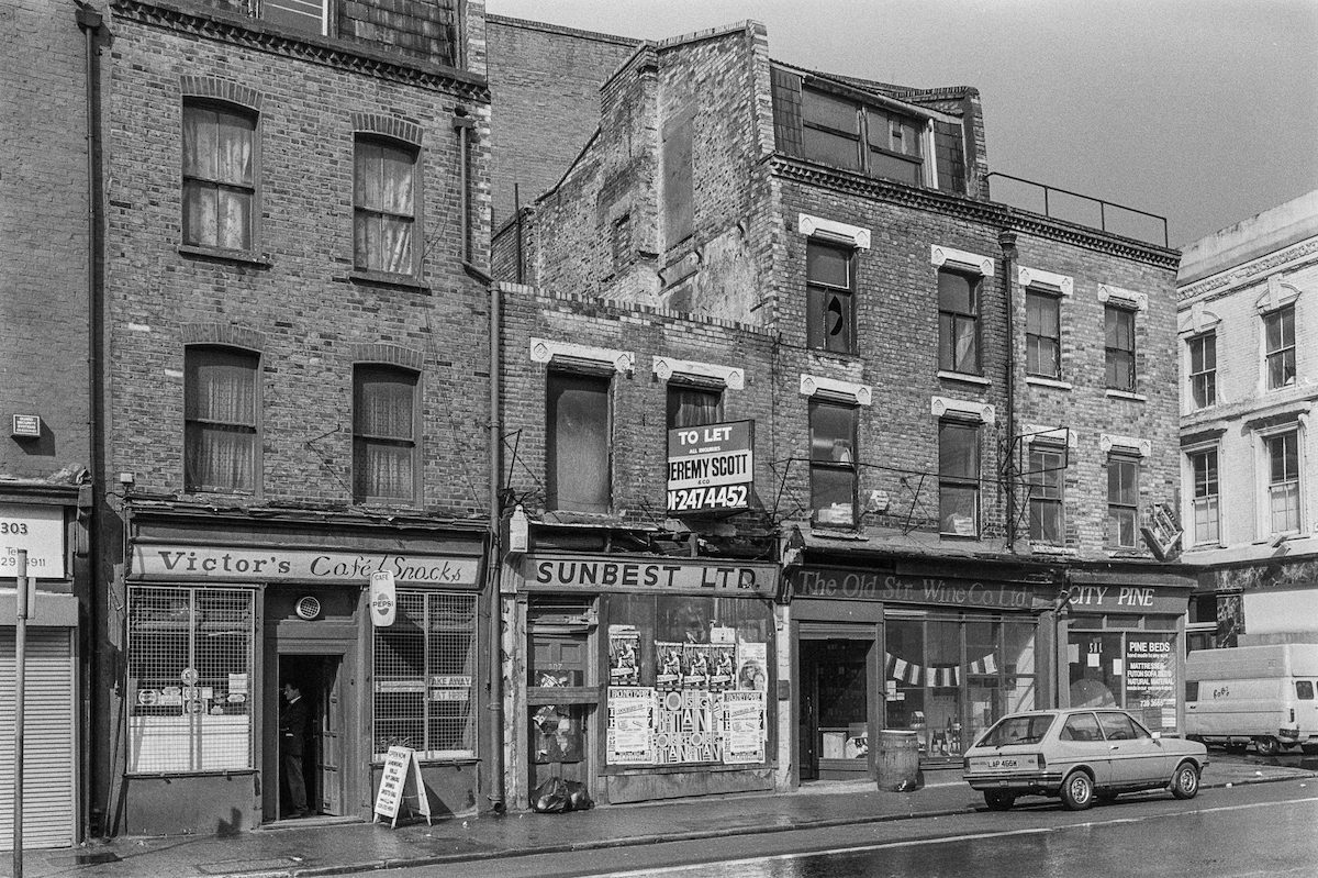 Shoreditch Hackney London 1980s