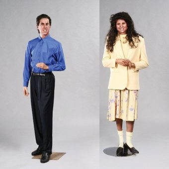 Life-Sized Wax Figures of Hollywood Stars From The 1980s and 1990s