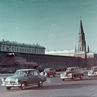 Wein Sarolta's  Color Photographs of Moscow and St Petersburg – 1958