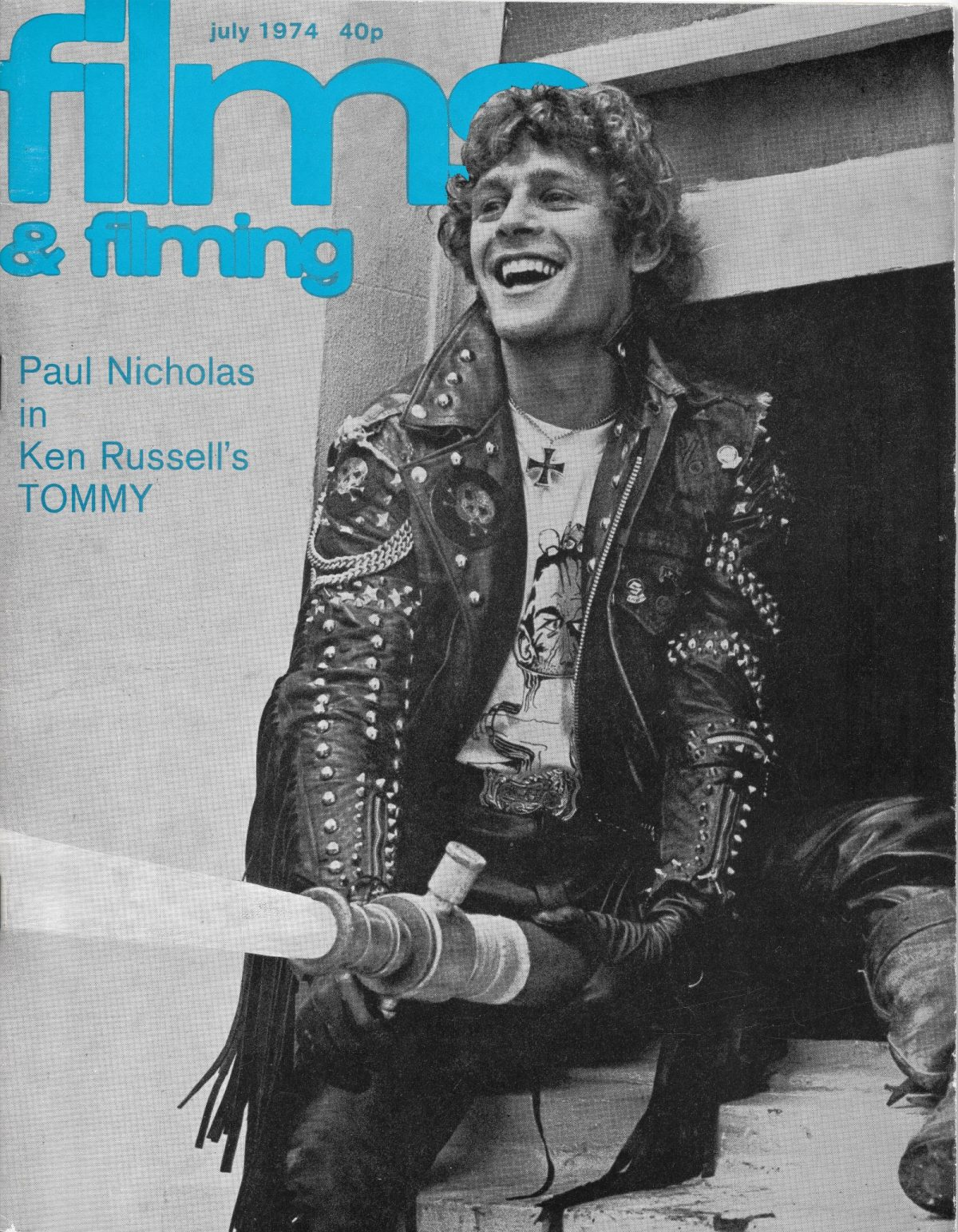Films & Filming, film, magazines, Ken Russell, Tommy, Paul Nicholas, 1970s