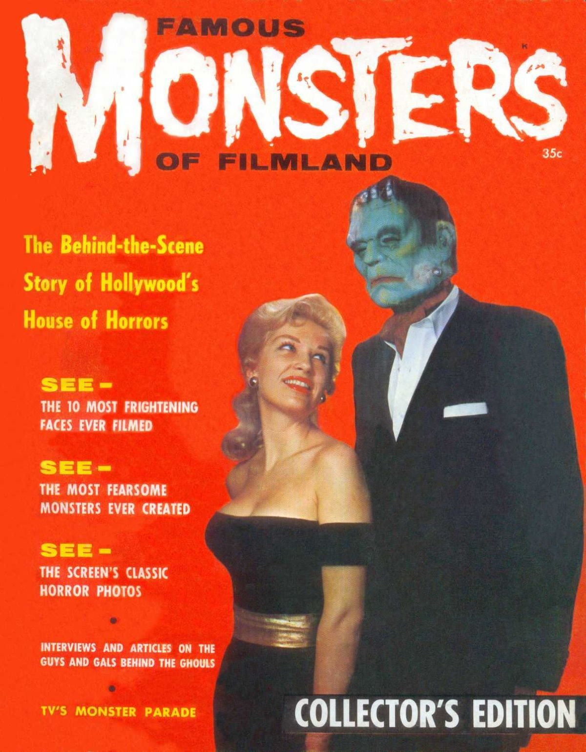 Famous Monsters of Filmland, magazine, horror films, first issue