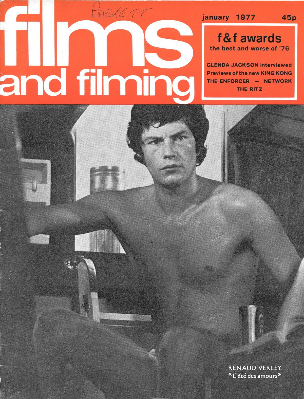 Films & Filming, film, magazines, 1970s