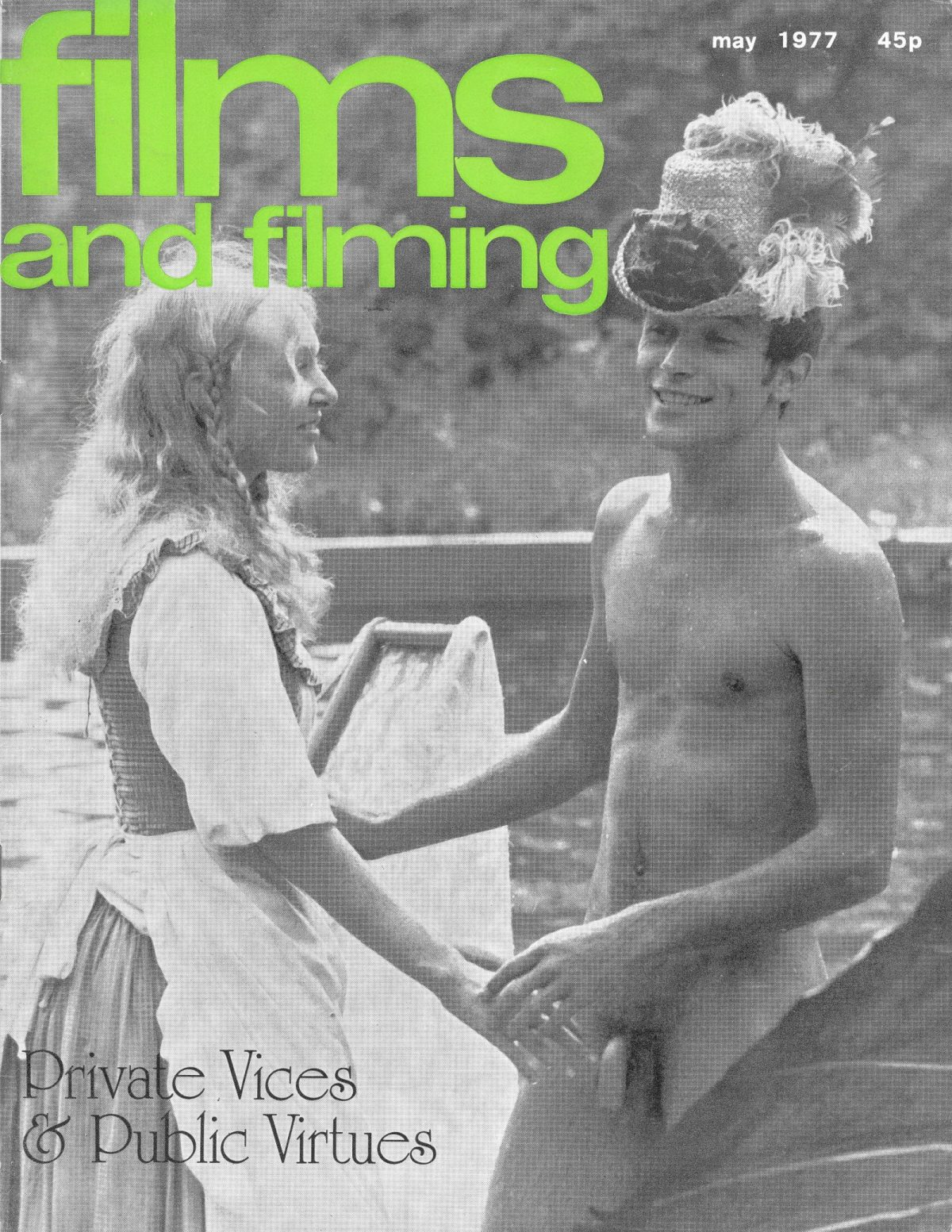 Films & Filming, film, magazines, European Cinema, sex, 1970s