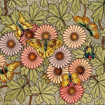 Gorgeous Stained Glass From The Catalog of Belcher Mosaic Glass Co. New York, N.Y. – 1886