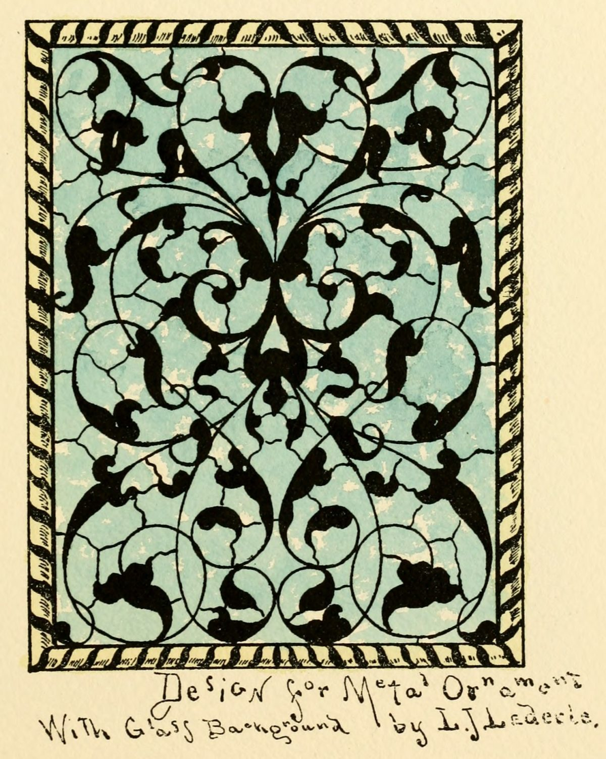 Glass Catalog by Belcher Mosaic Glass Co. New York, N.Y. 1886