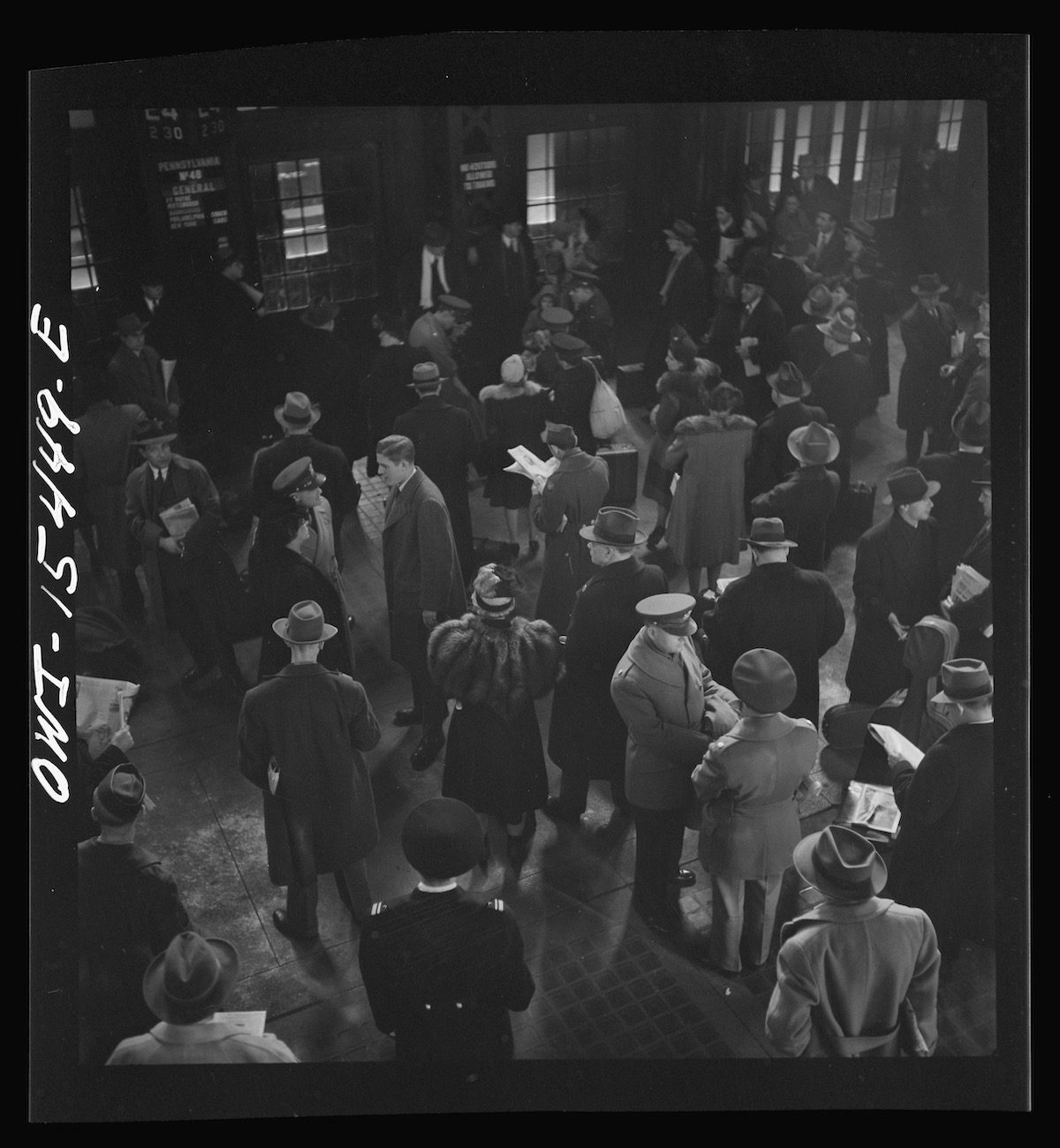 Union Station Chicago 1943 by Jack Delano