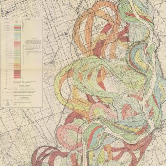 Dr Harold Norman Fisk's Outstanding Maps of the Mississippi River – 1944