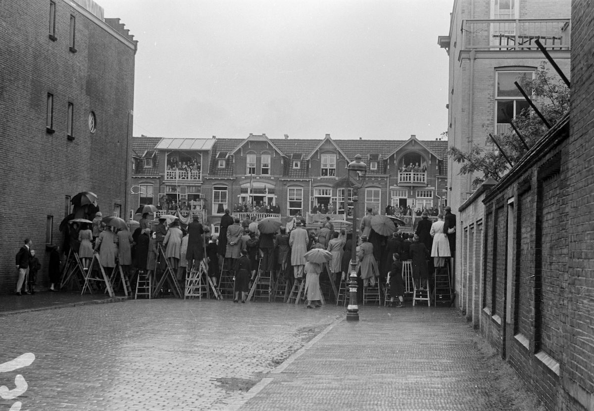The Netherlands The Hague Liberation 1945-35