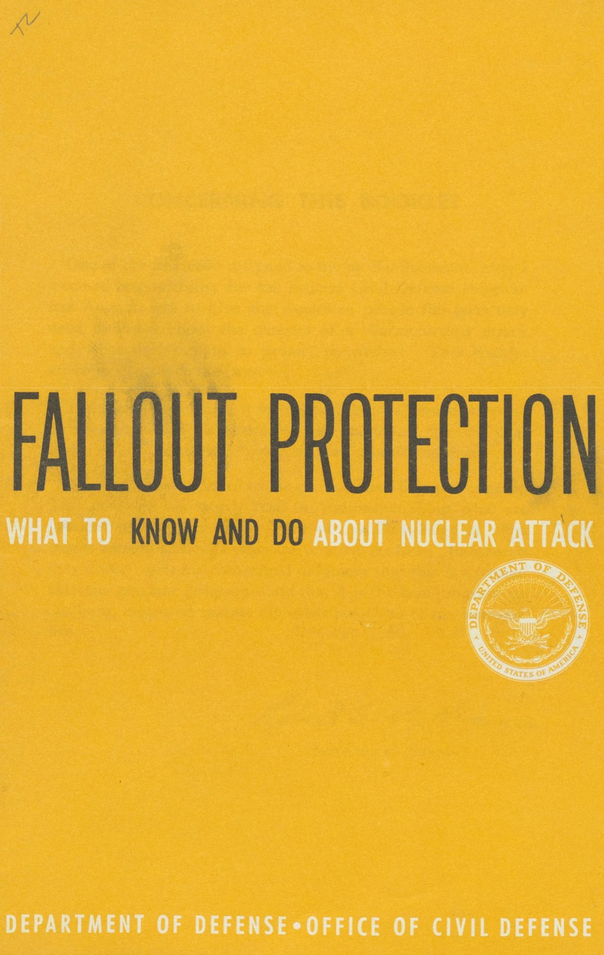 Nuclear survival pamphlets