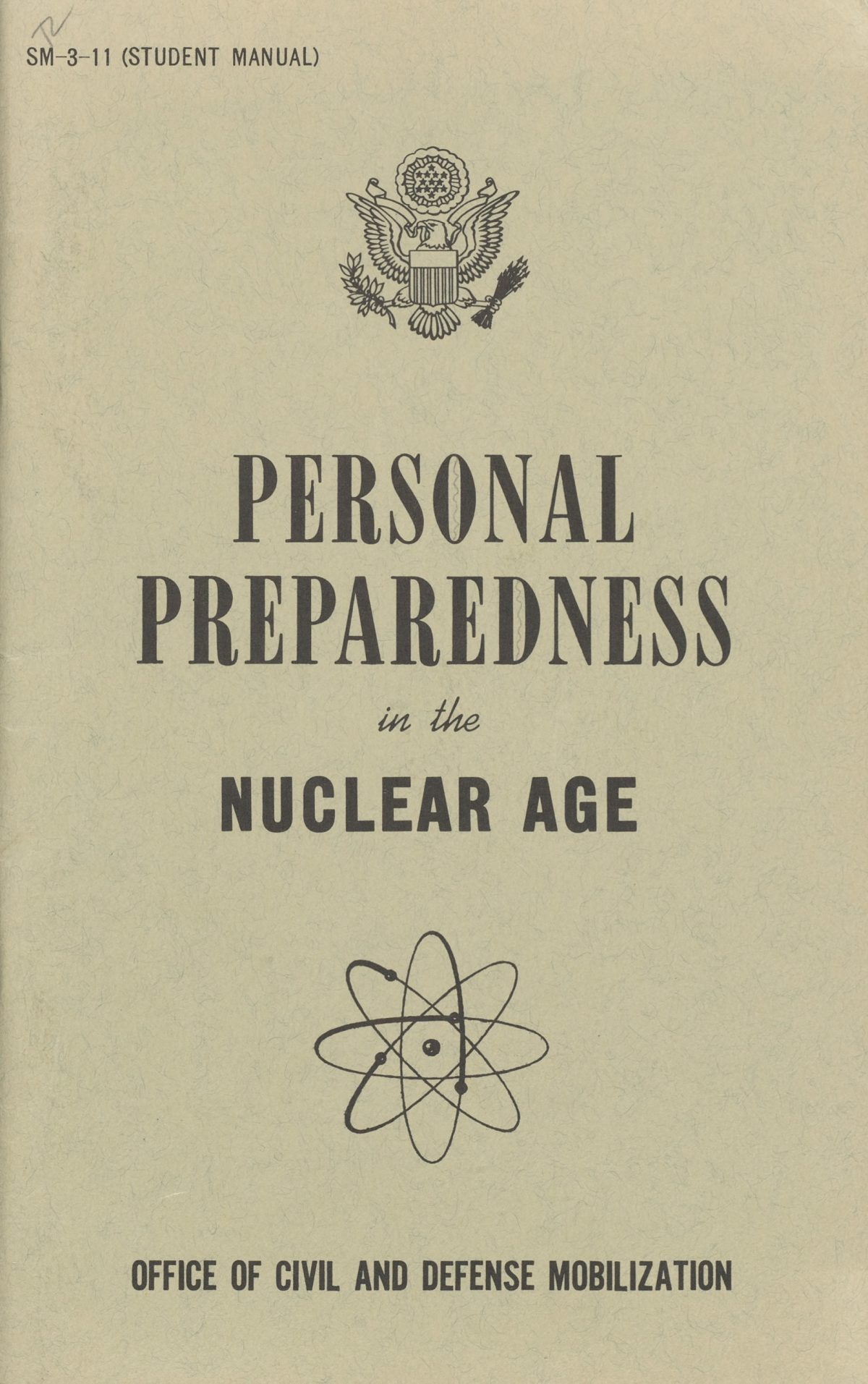 nuclear survival pamphlets US 1950s