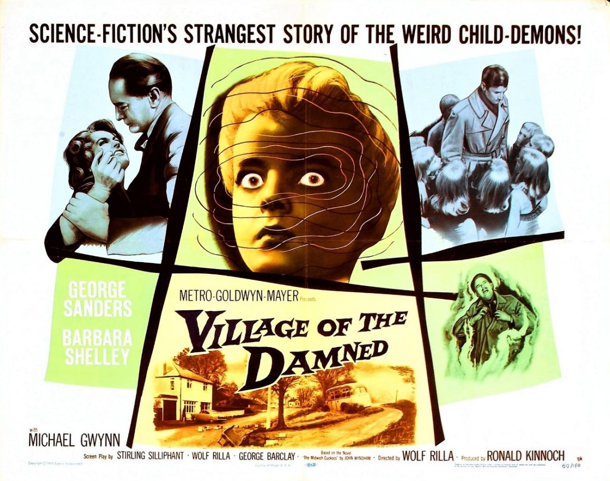 Village of the Damned, Sci-Fi, Film, 1960s, John Wyndham