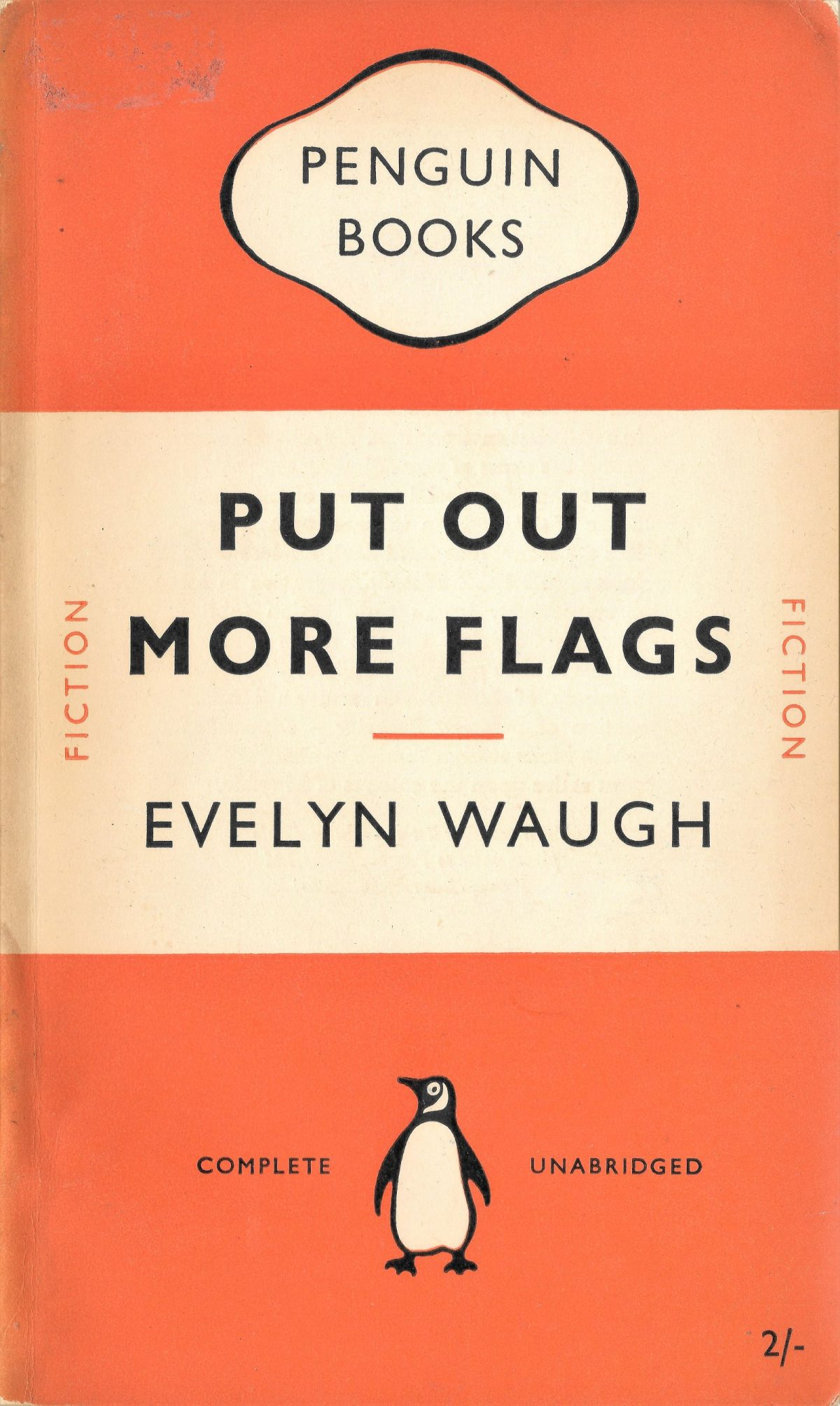 Evelyn Waugh, Put Out More Flags, book, writers, Duncan McLaren
