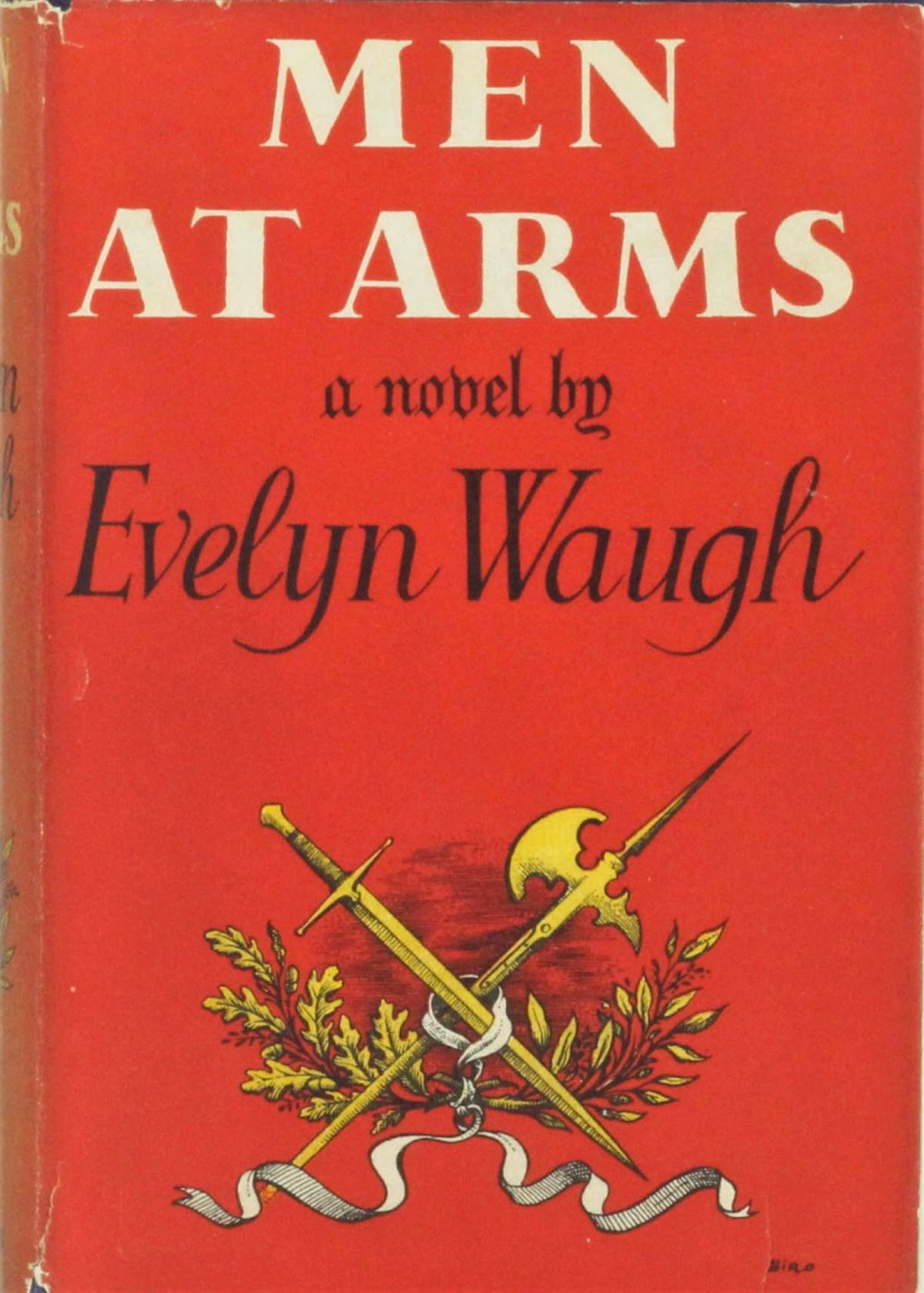 Evelyn Waugh, Men at Arms, books, writers, Duncan McLaren