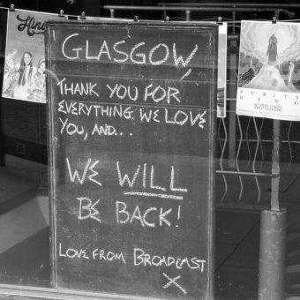 Ghost Town: Photographer Documents A Deserted Glasgow During Lockdown