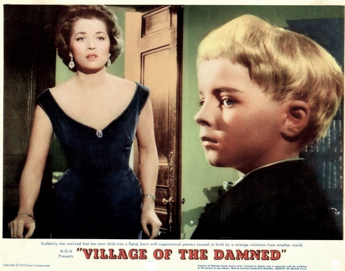 Village of the Damned, Sci-Fi, Film, 1960s, John Wyndham, Barbara Shelley