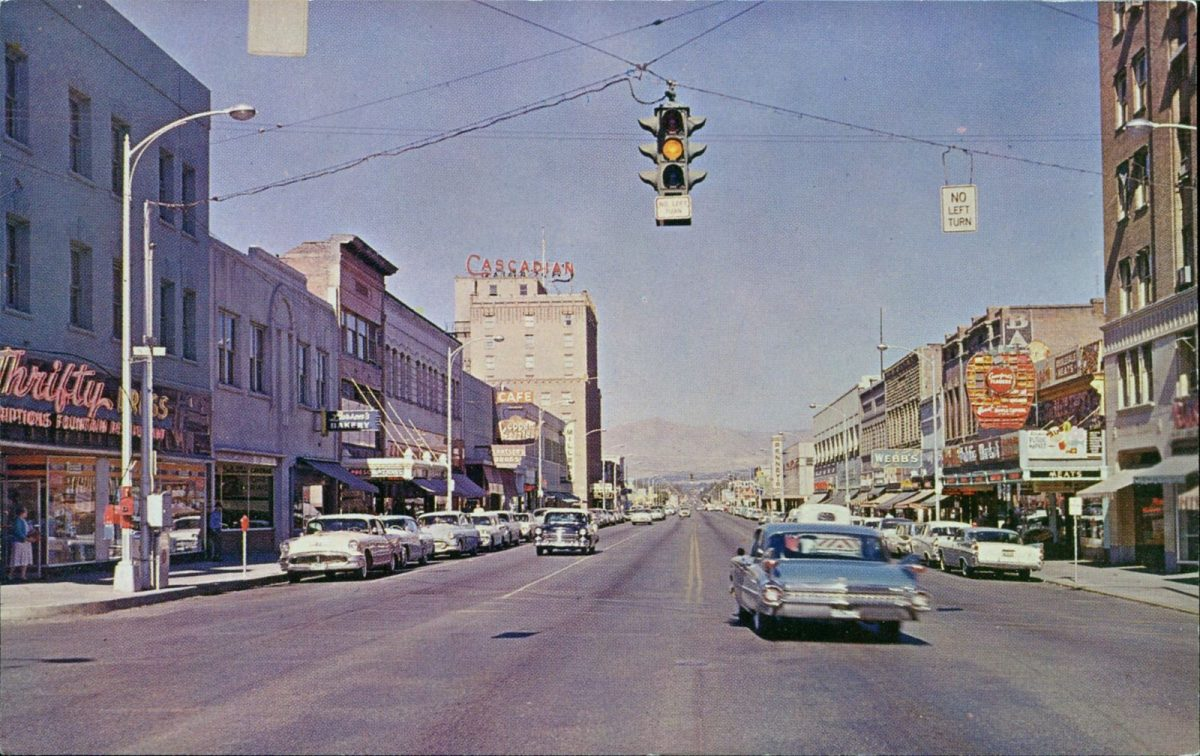 Wenatchee, Washington, USA, postcards, vintage