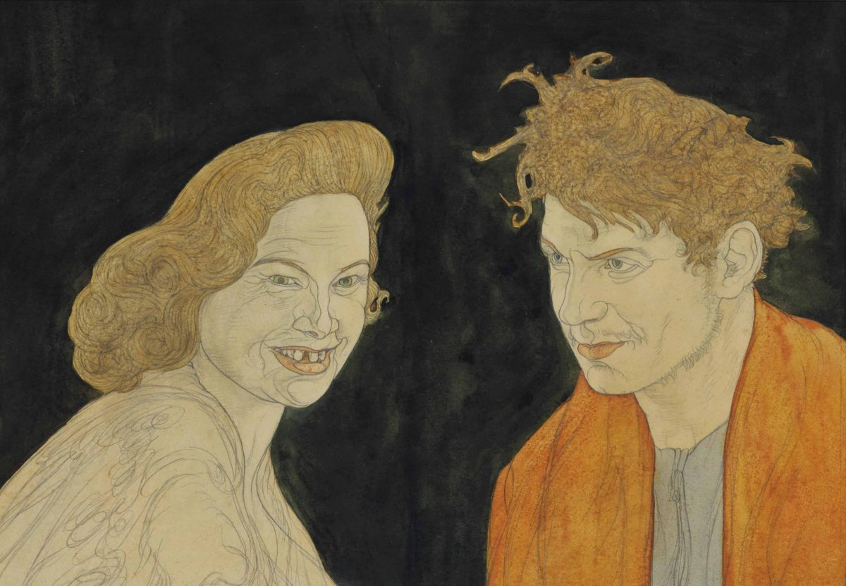 Austin Osman Spare (1886-1956) Austin Spare and Witch