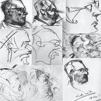 An Artist On LSD Drew These 9 Pictures of His Doctor In The 1950s