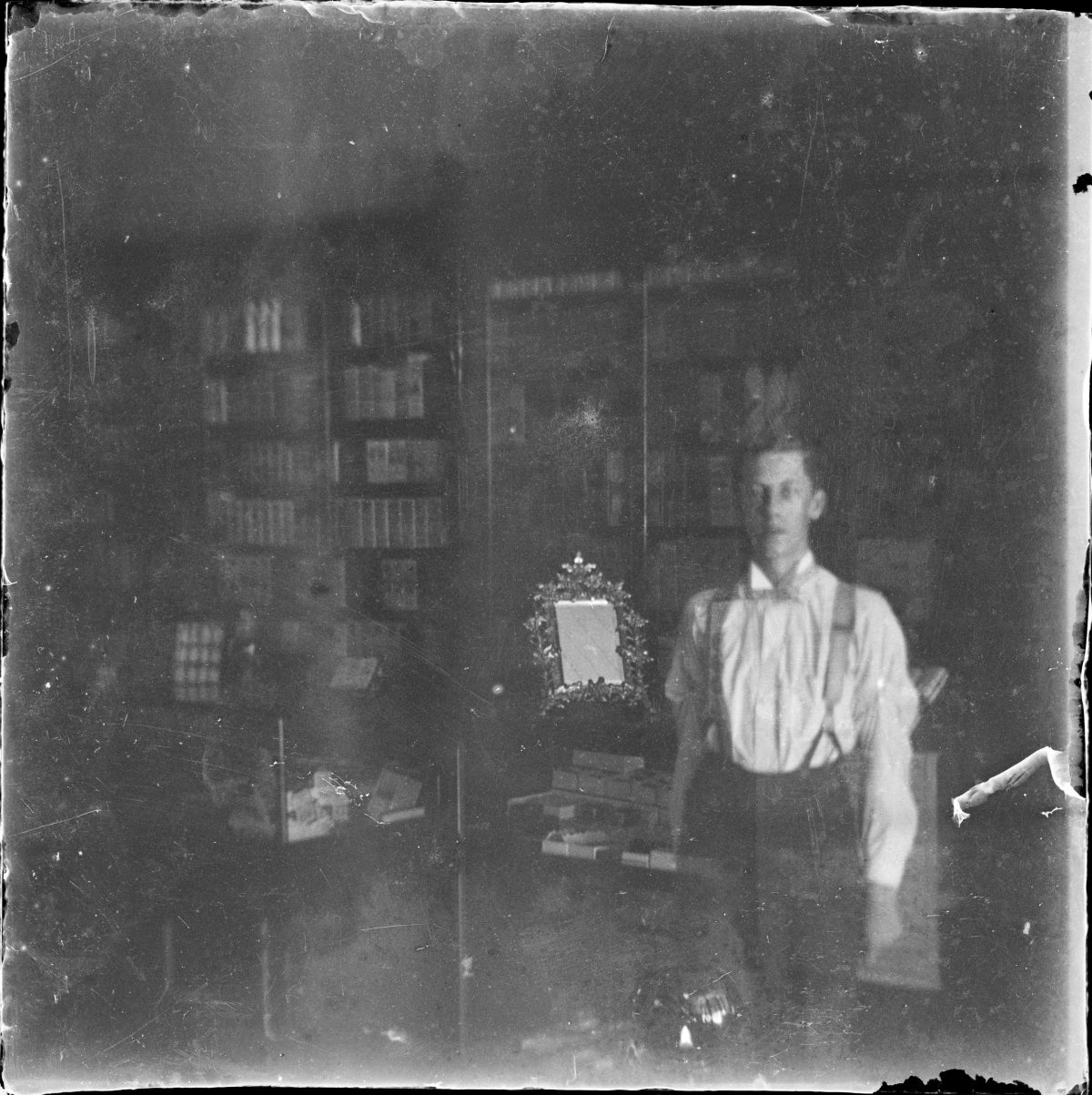 Self portrait attributed to George Silas DuntleyGeorge Silas Duntley Photographs 1899-1918