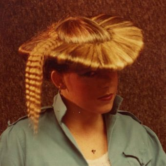 Fabulous Snapshots From A Florida Hair Salon in the 1980s