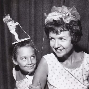 Wild-Wacky-Stylish: Vintage Photos of Women's Hats Through the Ages