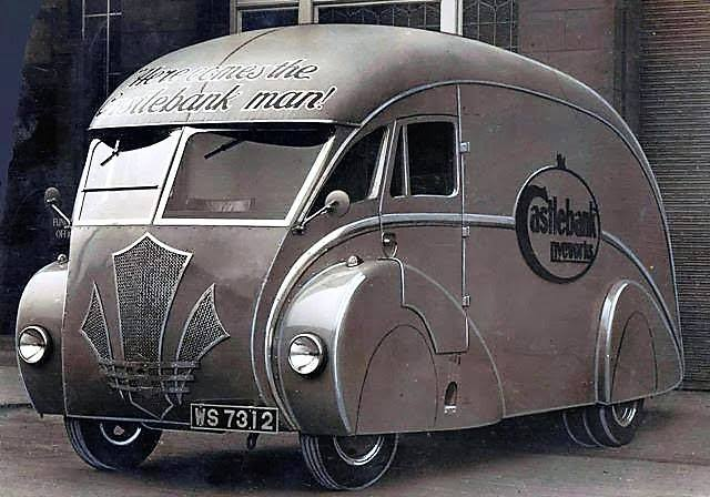 art deco vans holland Coachcraft of Govan, Glasgow 1930s